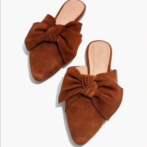 Madewell Bow Remi Mule- Size 9